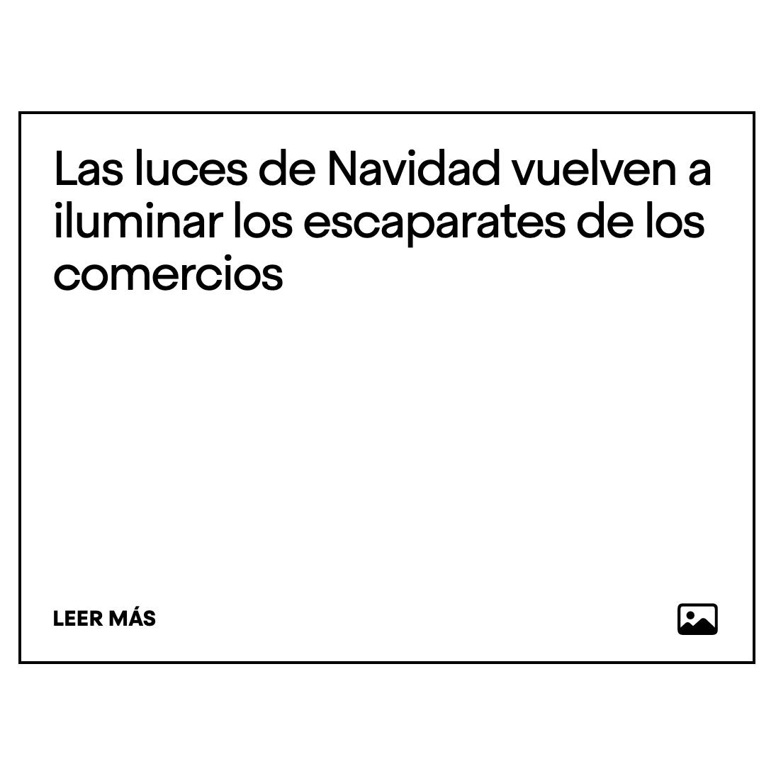 """BCD: """"LAS LUCES DE NAVIDAD ILUMINAN EL COMERCIO"""" 2019"""